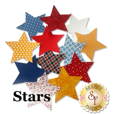 Laser-Cut Patriotic Stars - 4 Sizes Available!