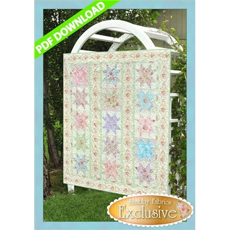 Stars in the Garden Pattern - PDF Download