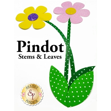 Laser-Cut Pindot Stems & Leaves - 4 Sizes Available!