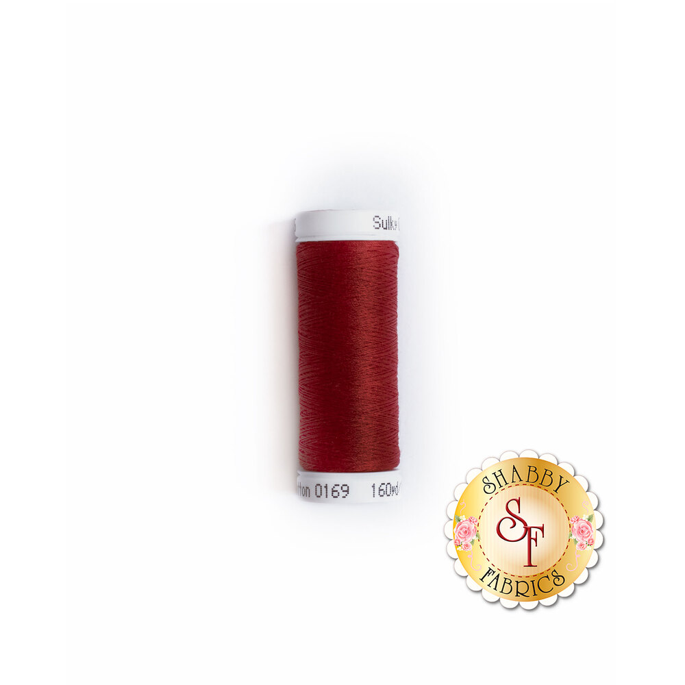 Sulky 50 wt Cotton Thread - Cabernet Red #0169 by Sulky Of America