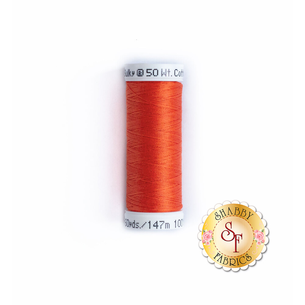Sulky 50 wt Cotton Thread - Light Red 1037 by Sulky Of America