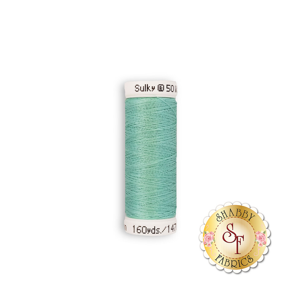 Sulky 50 wt Cotton Thread - Teal 1046 by Sulky Of America