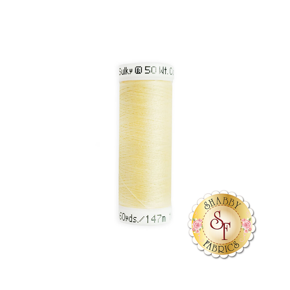 Sulky 50 wt Cotton Thread - 1061 Pale Yellow by Sulky Of America