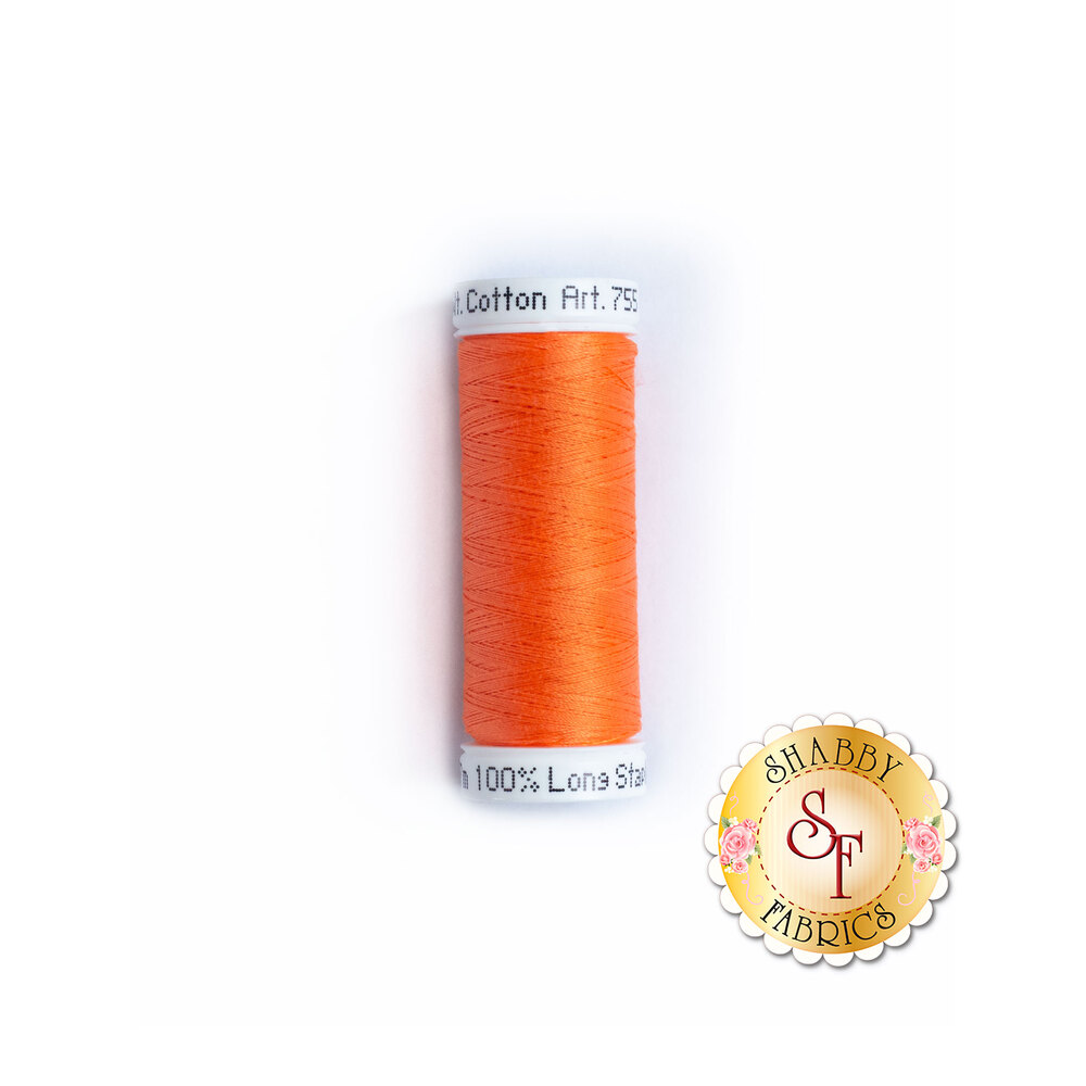 Sulky 50 wt Cotton Thread - 1078 Tangerine by Sulky Of America
