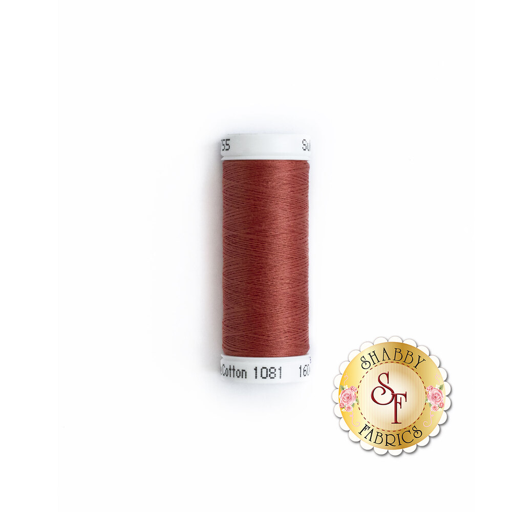 Sulky 50 wt Cotton Thread - 1081 Brick by Sulky Of America