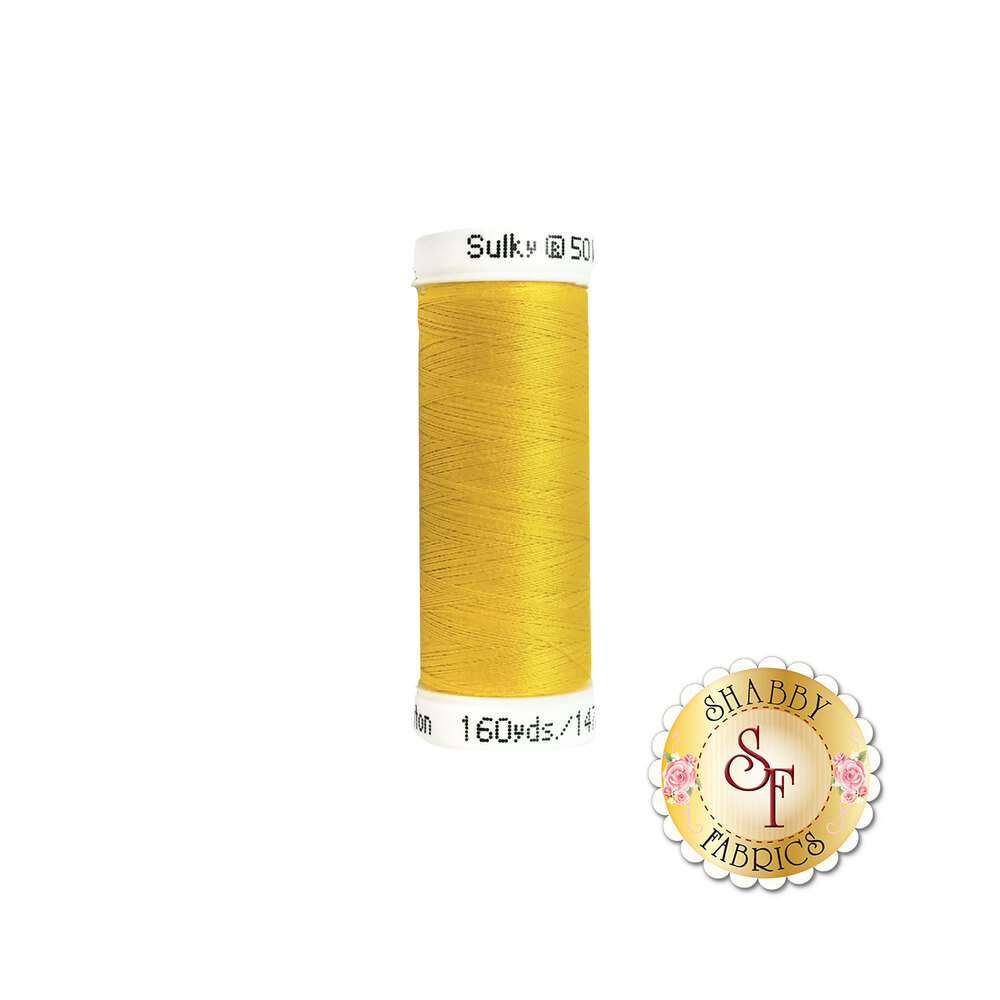 Sulky 50 wt Cotton Thread - 1124 Sun Yellow by Sulky Of America