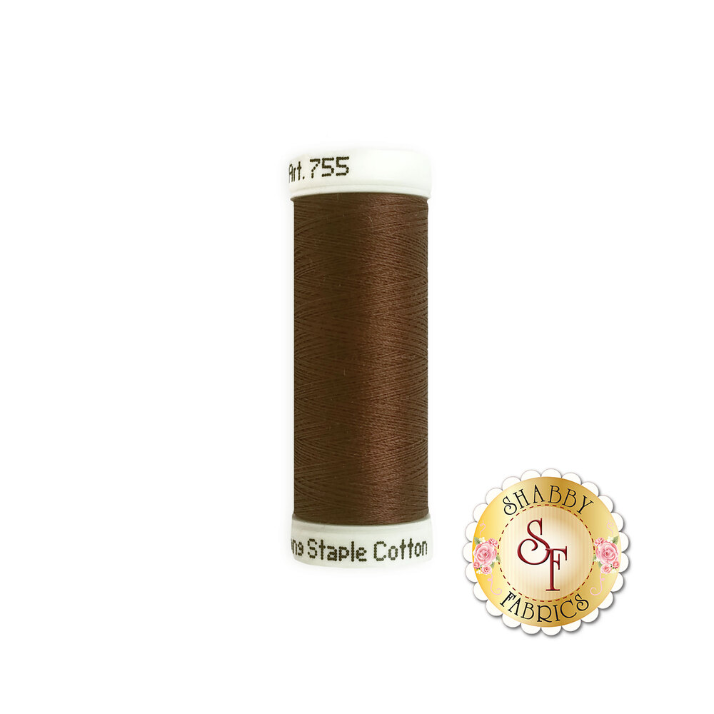 Sulky 50 wt Cotton Thread - 1130 Dark Brown by Sulky Of America