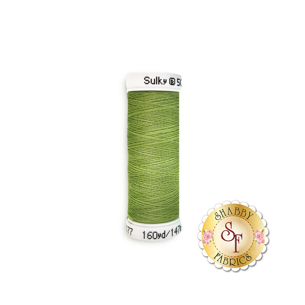 Sulky 50 wt Cotton Thread - 1177 Avocado by Sulky Of America