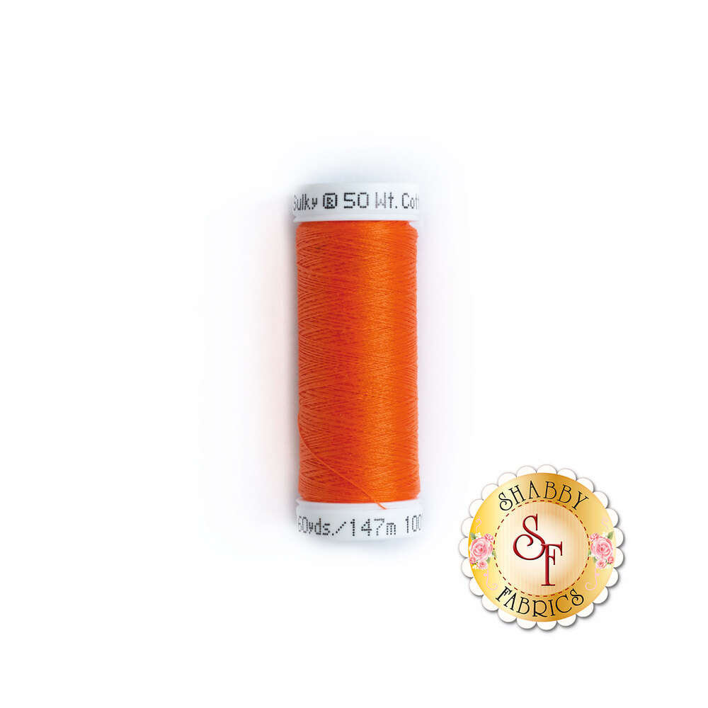 Sulky 50 wt Cotton Thread - 1184 Orange Red by Sulky Of America