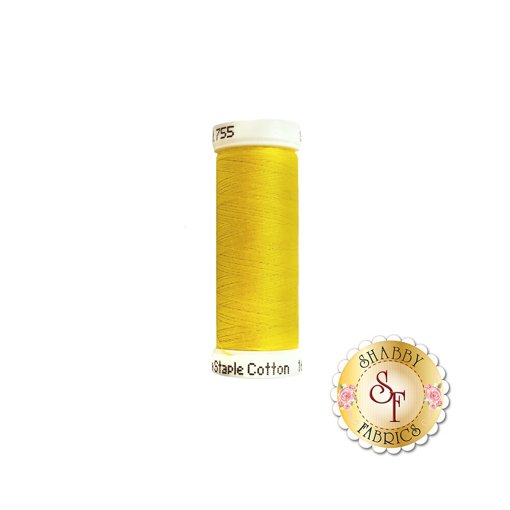Sulky 50 wt Cotton Thread - 1187 Mimosa Yellow by Sulky Of America