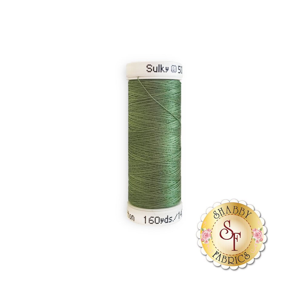 Sulky 50 wt Cotton Thread - 1287 French Green by Sulky Of America