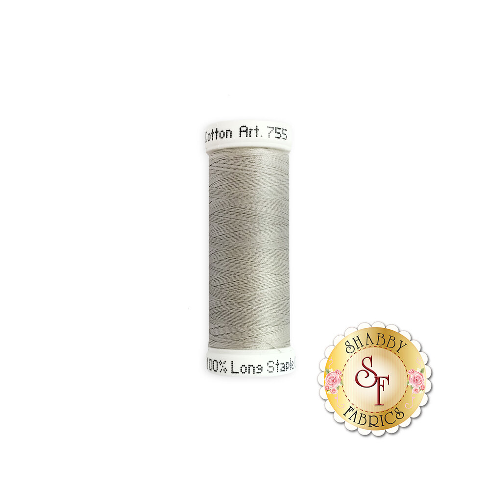 Sulky 50 wt Cotton Thread - 1328 Nickel Gray by Sulky Of America