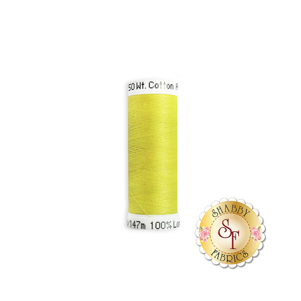 Sulky 50 wt Cotton Thread - 1901 Neon Yellow by Sulky Of America