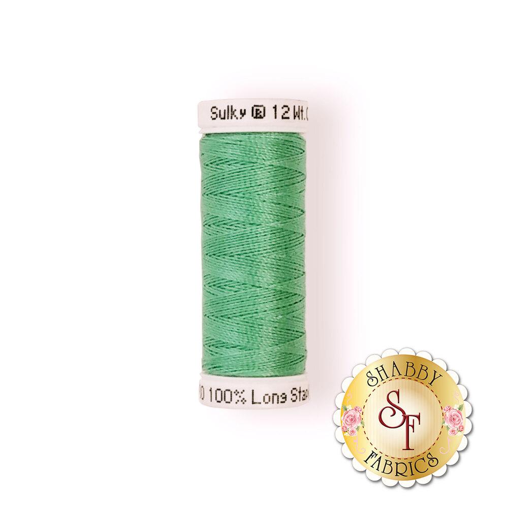 Sulky 12 wt Cotton Petites Thread #0580 Mint Julep - 50 yds