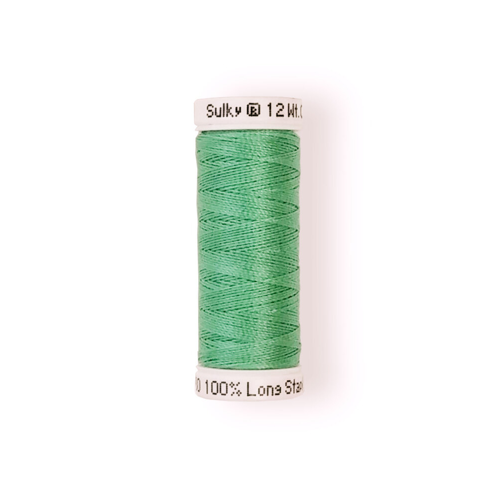 Sulky 12 wt Cotton Petites Thread #0580 Mint Julep - 50 yds