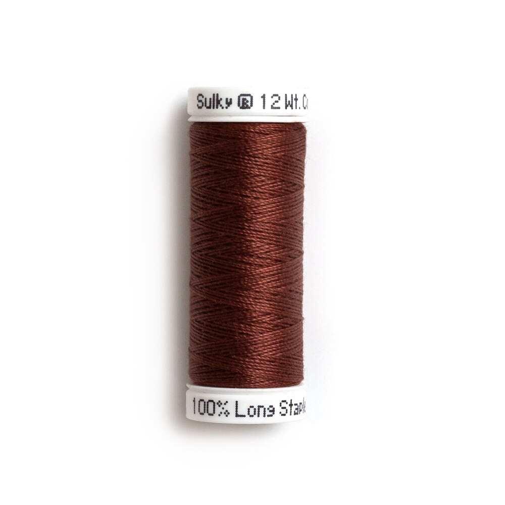 Sulky Cotton Petites Thread Tawny Brown