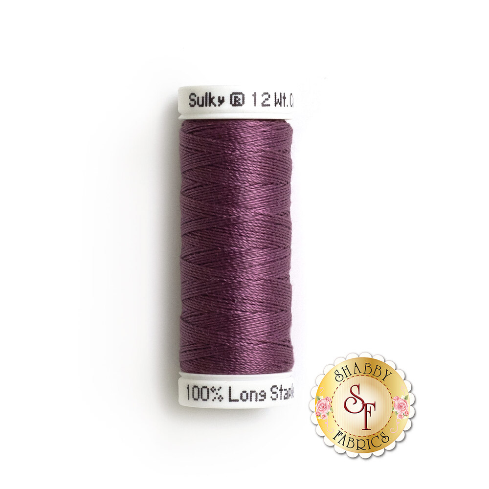 Sulky Cotton Petites Thread Plum Wine