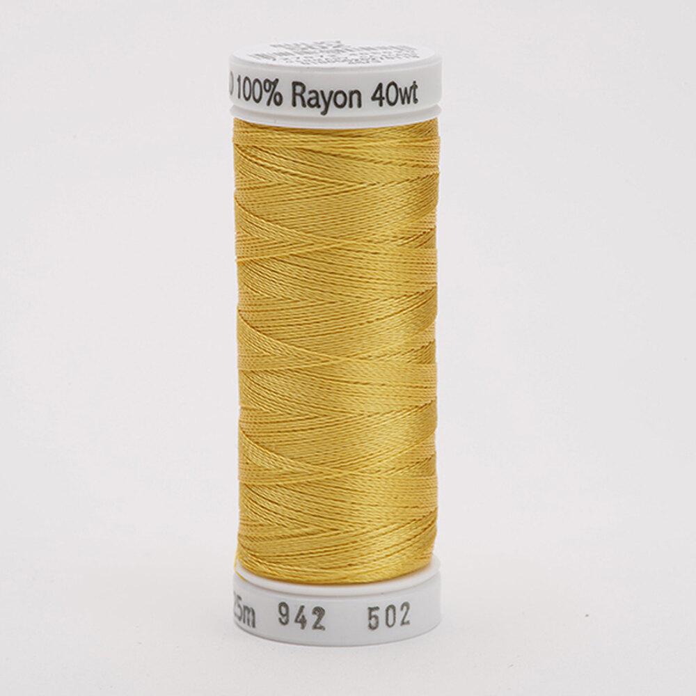 40 wt Sulky Rayon Thread Cornsilk 0502 | Shabby Fabrics