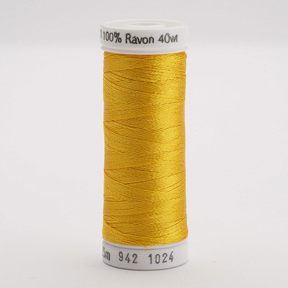 Sulky 40 wt Rayon Thread  #1024 Goldenrod | Shabby Fabrics