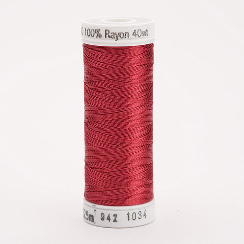Sulky 40 wt Rayon Thread  #1034 Burgundy | Shabby Fabrics