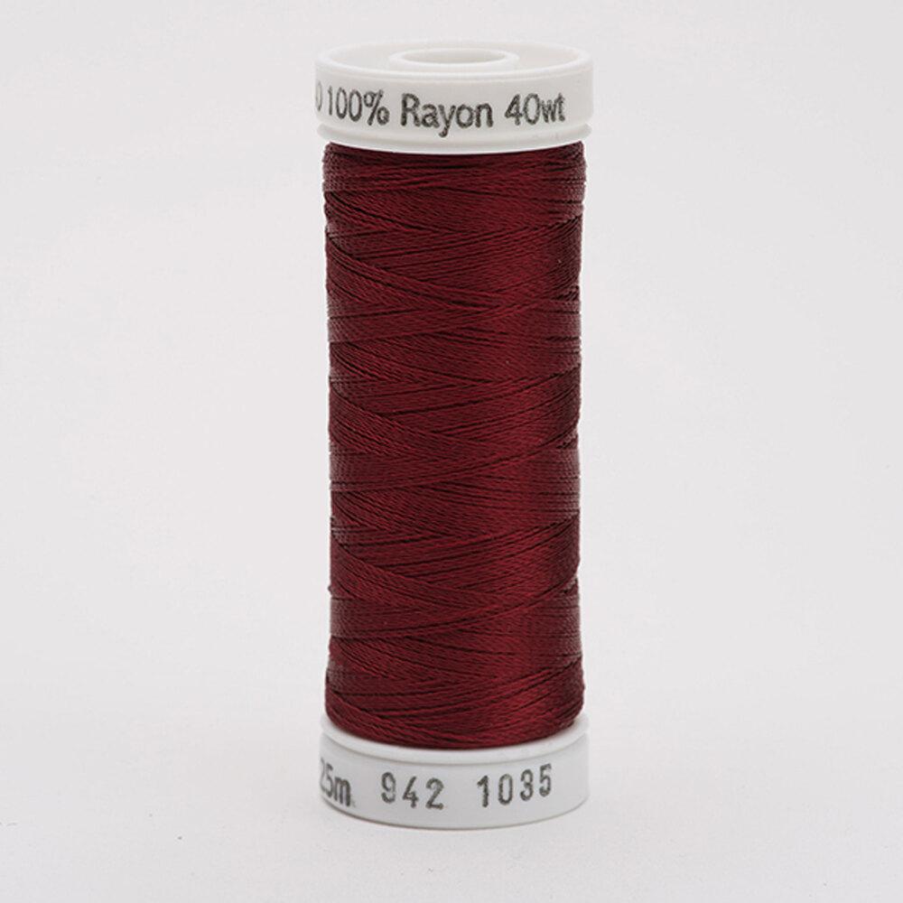 Sulky 40 wt Rayon Thread  #1035 Dk. Burgundy | Shabby Fabrics