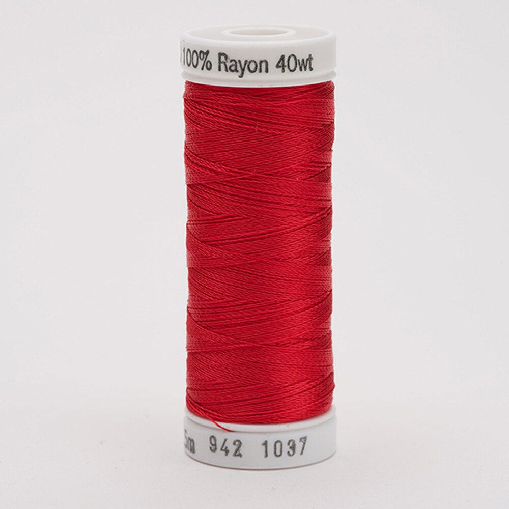 Sulky 40 wt Rayon Thread  #1037 Lt. Red | Shabby Fabrics