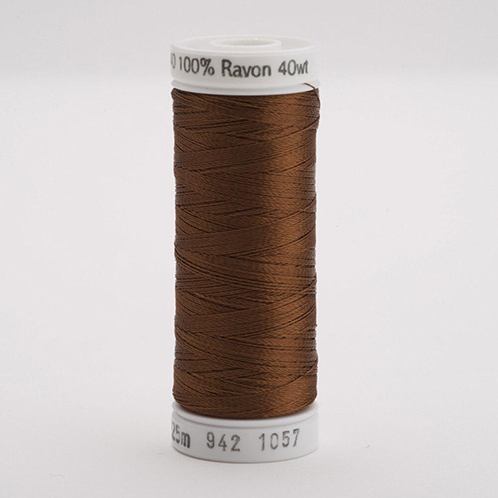 Sulky 40 wt Rayon Thread  #1057 Dk. Tawny Tan   Shabby Fabrics