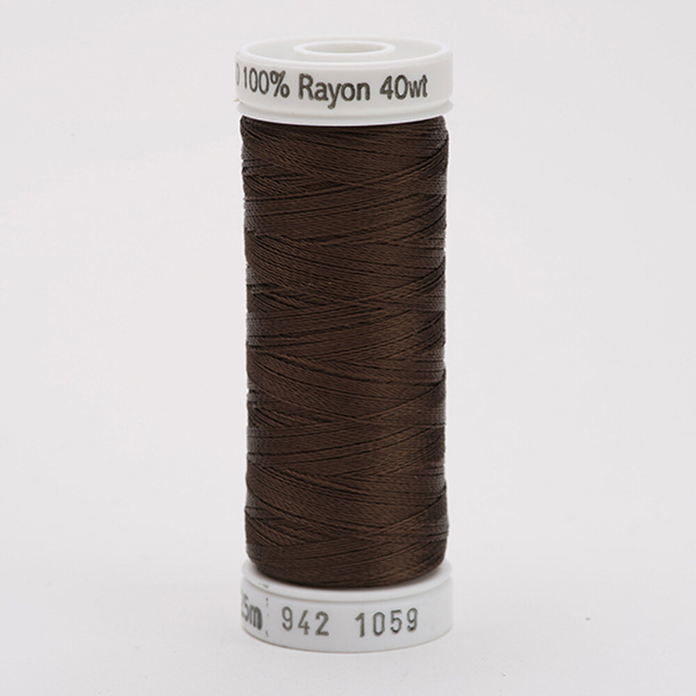 Sulky 40 wt Rayon Thread  #1059 Dk. Tawny Brown   Shabby Fabrics