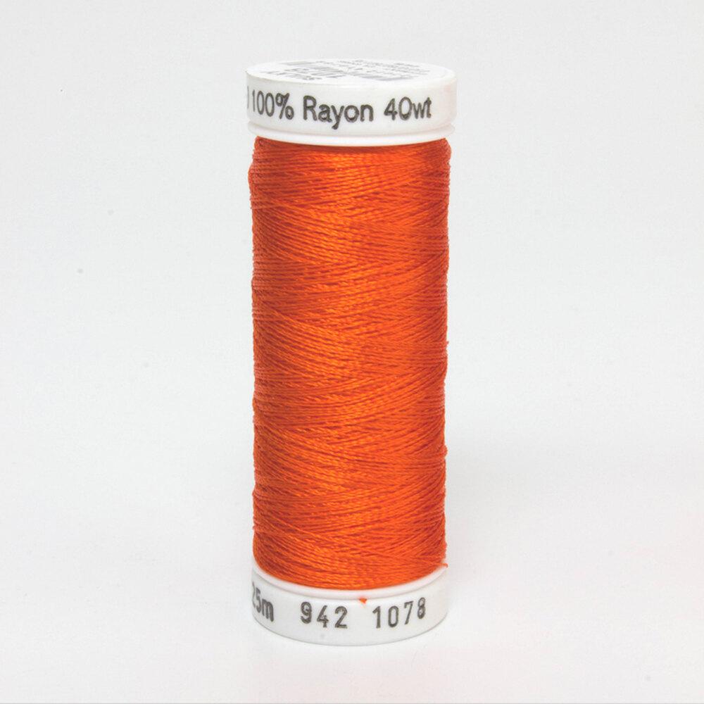 Sulky 40 wt Rayon Thread  #1078 Tangerine | Shabby Fabrics
