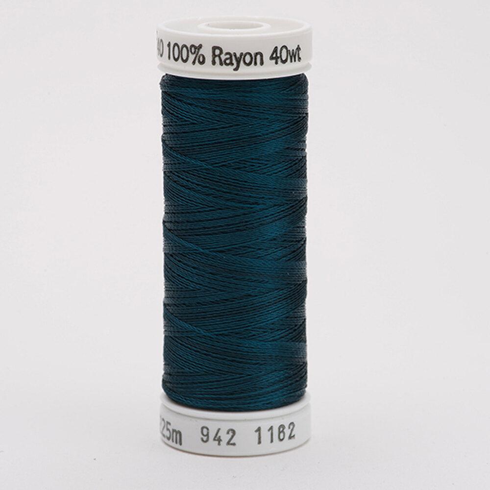 Sulky 40 wt Rayon Thread  #1162 Deep Teal | Shabby Fabrics
