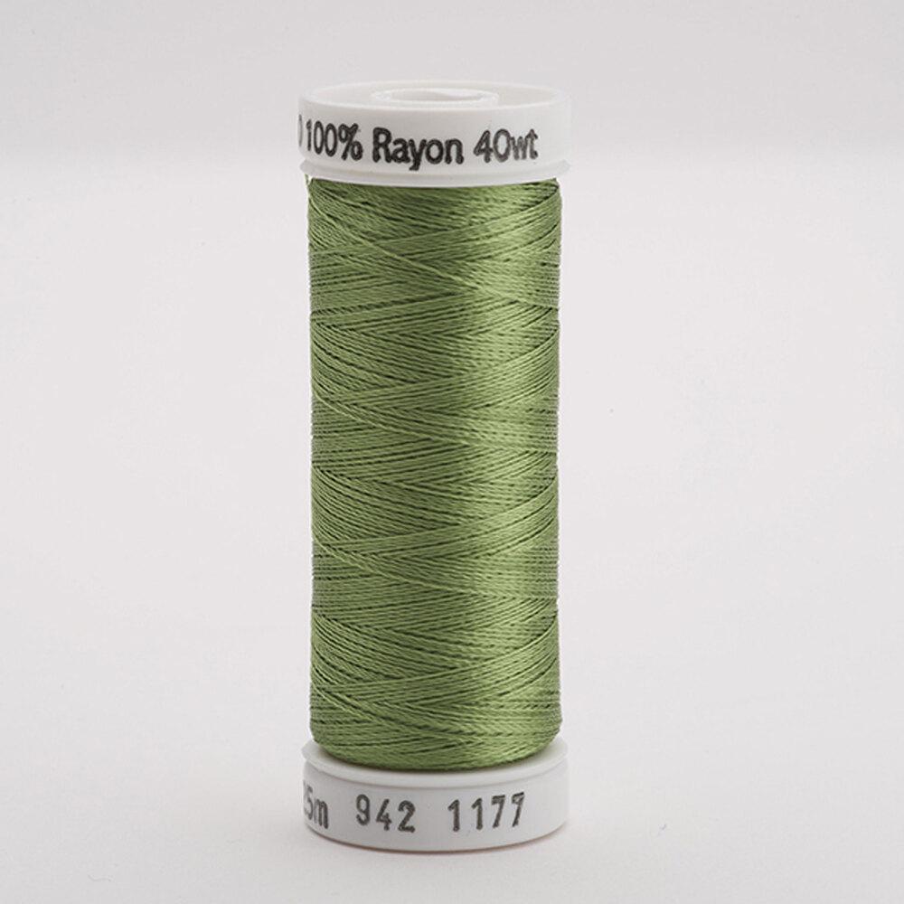 Sulky 40 wt Rayon Thread  #1177 Avocado | Shabby Fabrics