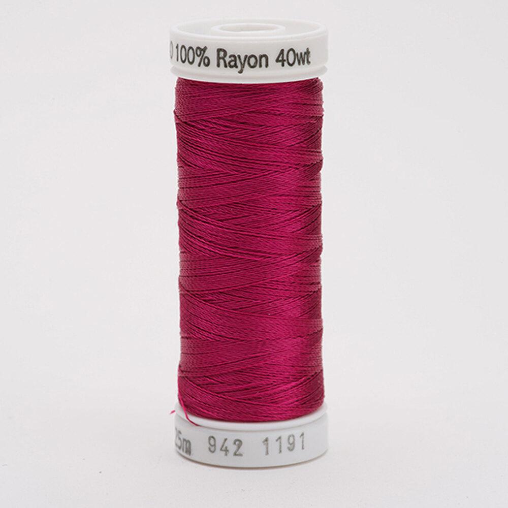 Sulky 40 wt Rayon Thread  #1191 Dk. Rose | Shabby Fabrics