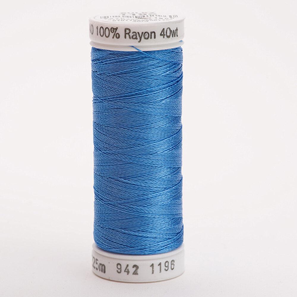 Sulky 40 wt Rayon Thread  #1196 Blue | Shabby Fabrics