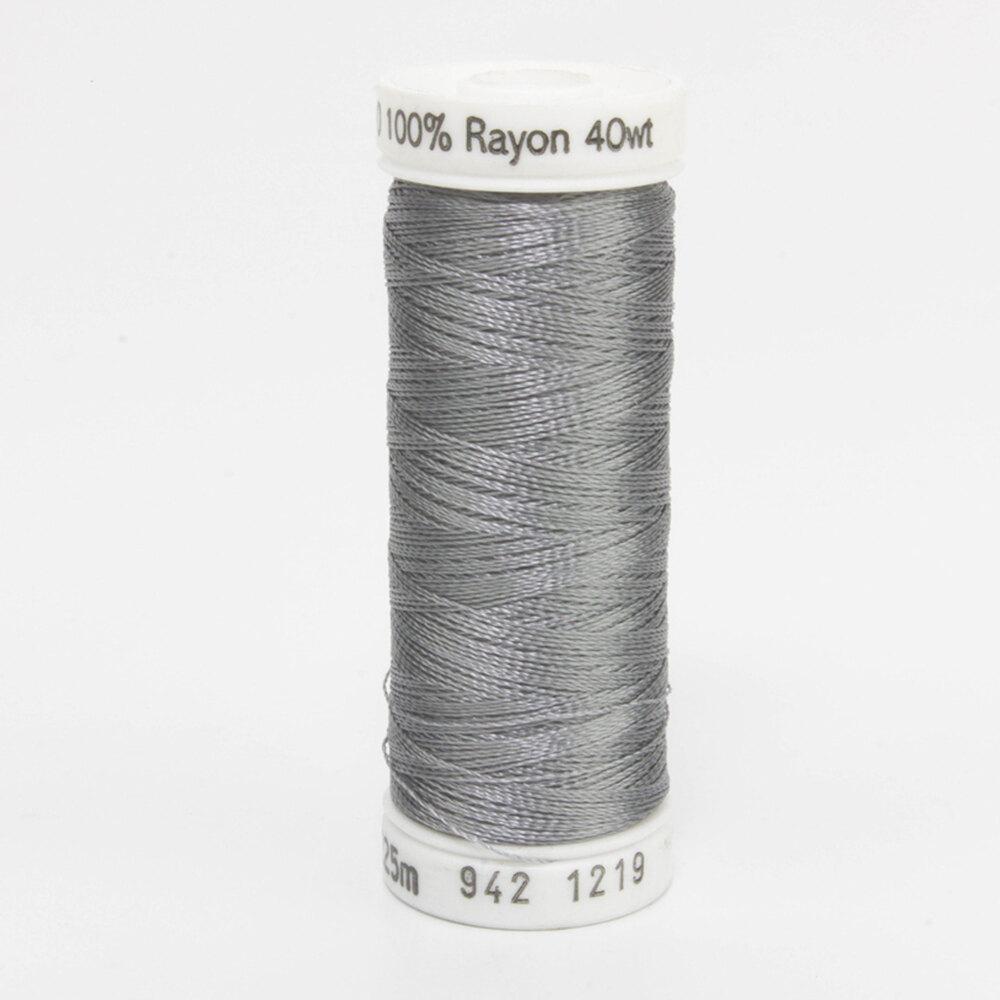 Sulky 40 wt Rayon Thread  #1219 Gray | Shabby Fabrics