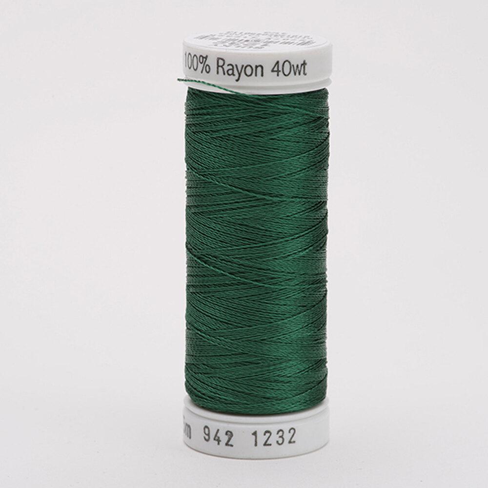 Sulky 40 wt Rayon Thread  #1232 Classic Green | Shabby Fabrics