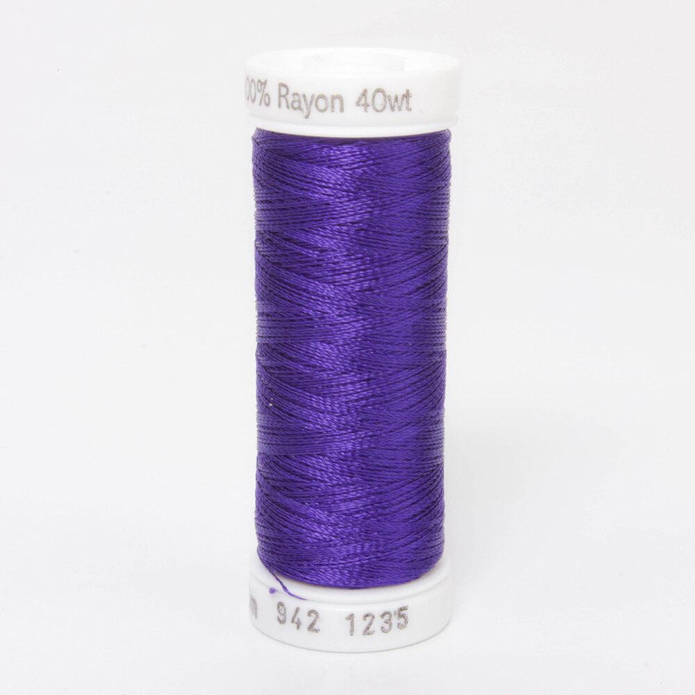 Sulky 40 wt Rayon Thread  #1235 Deep Purple | Shabby Fabrics