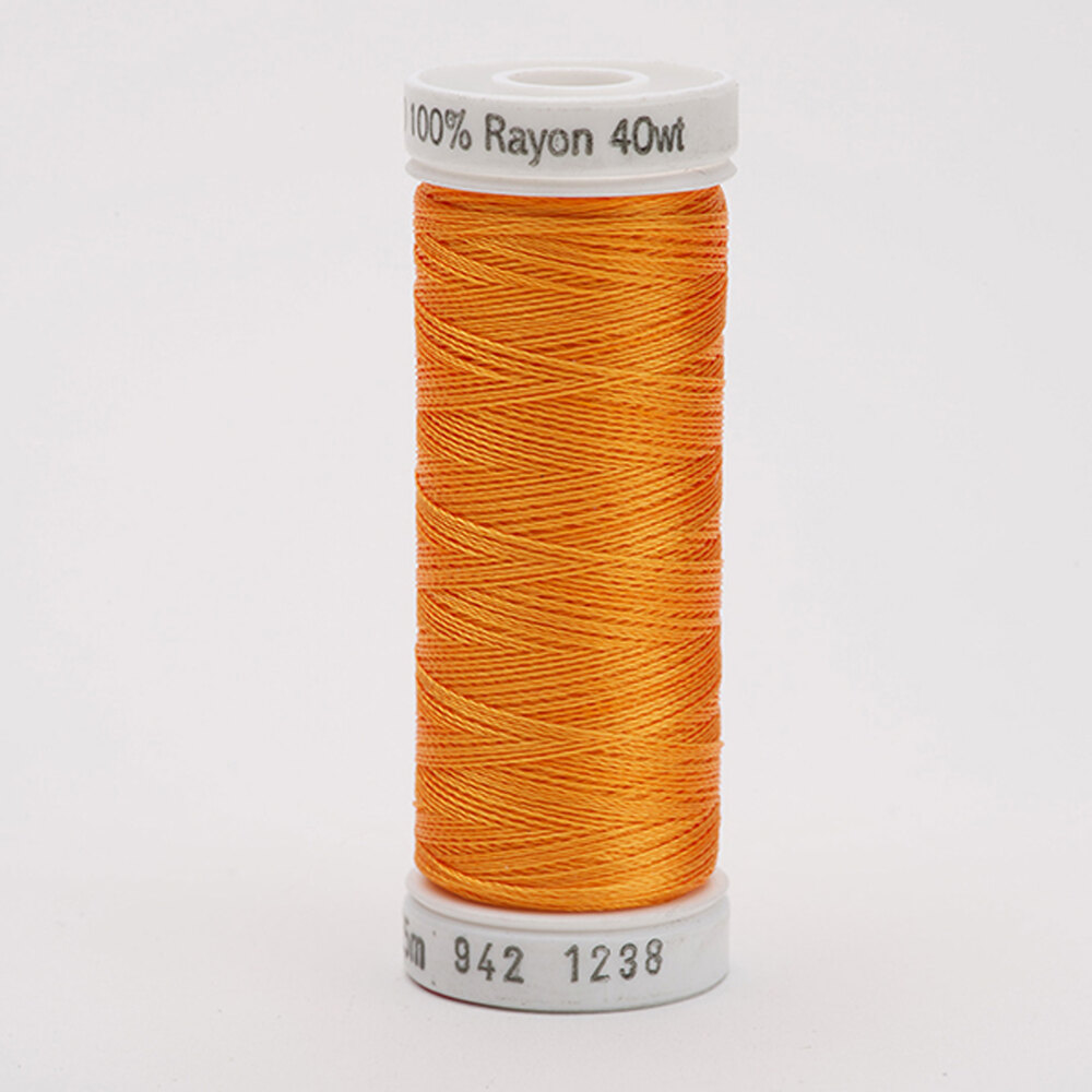Sulky 40 wt Rayon Thread  #1238 Orange Sunrise | Shabby Fabrics