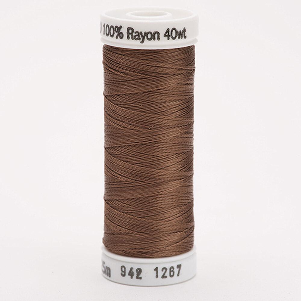 Sulky 40 wt Rayon Thread  #1267 Mink Brown   Shabby Fabrics