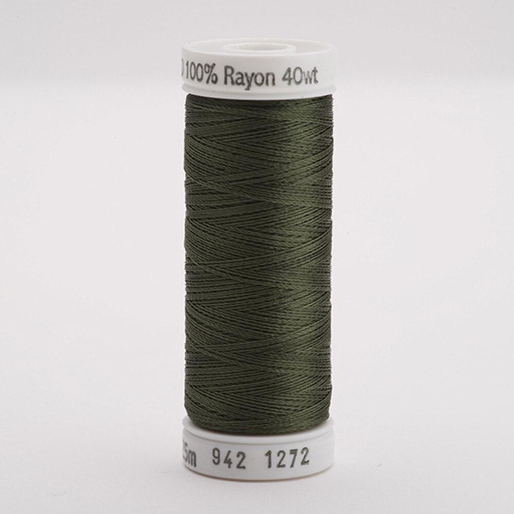 Sulky 40 wt Rayon Thread  #1272 Hedge Green | Shabby Fabrics