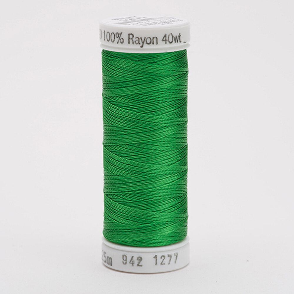 Sulky 40 wt Rayon Thread  #1277 Ivy Green | Shabby Fabrics
