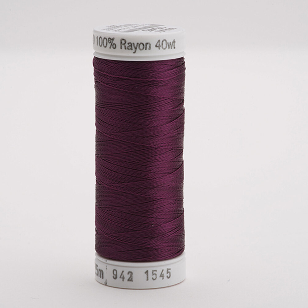 Sulky 40 wt Rayon Thread  #1545 Purple Accent | Shabby Fabrics