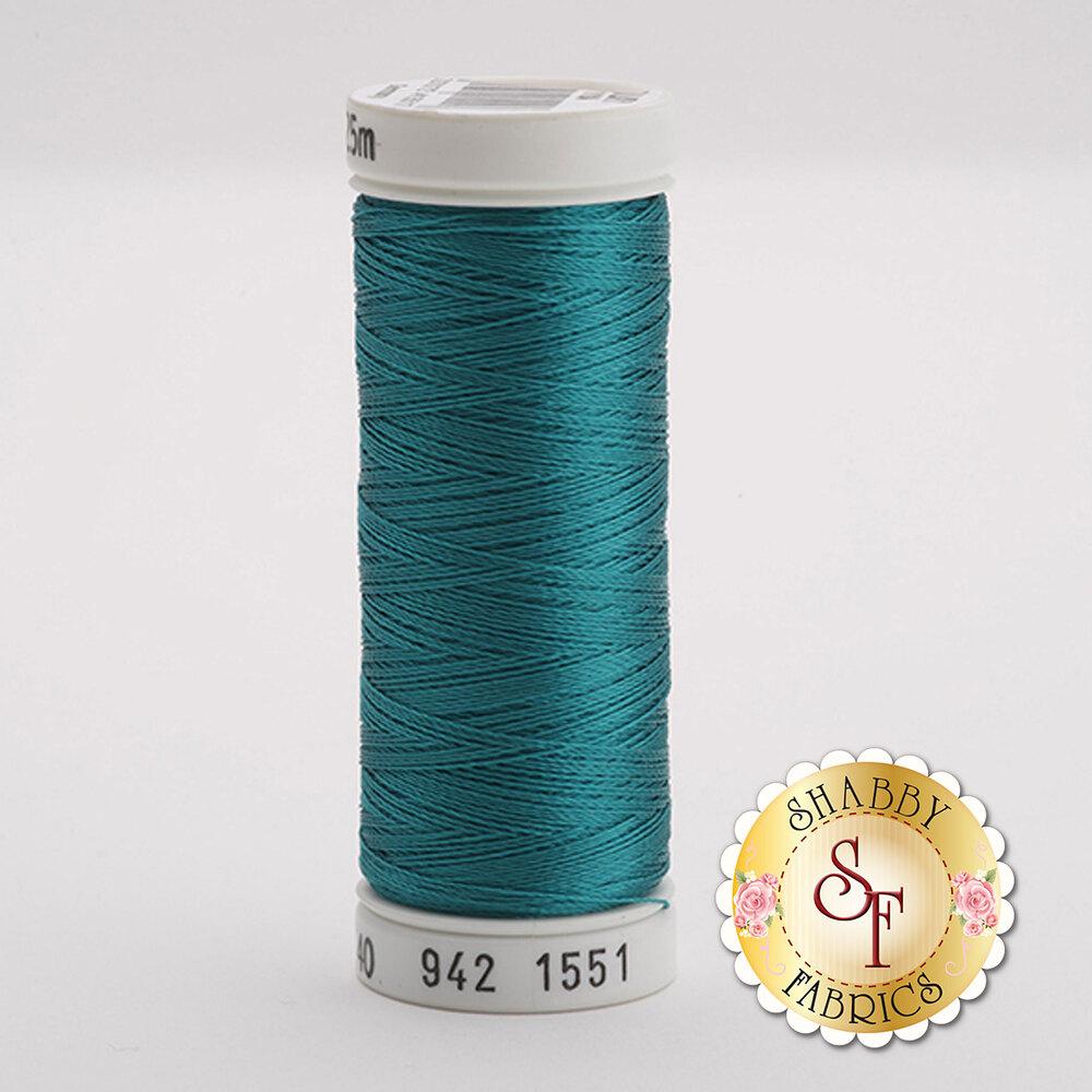 Sulky 40 wt Rayon Thread  #1551 Ocean Aqua | Shabby Fabrics