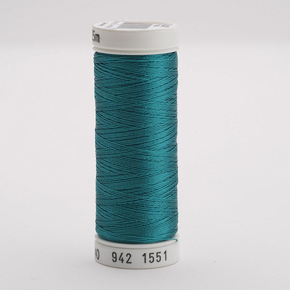 Sulky 40 wt Rayon Thread  #1551 Ocean Aqua   Shabby Fabrics