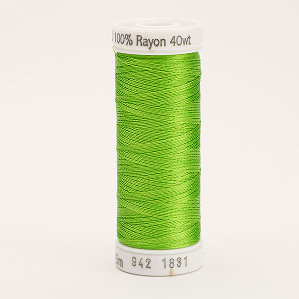 Sulky 40 wt Rayon Thread  #1831 Limeade | Shabby Fabrics