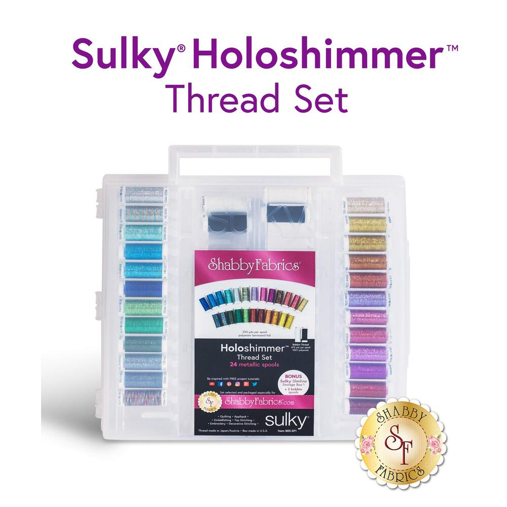 Sulky Holoshimmer Metallic - 28 pc Thread Set