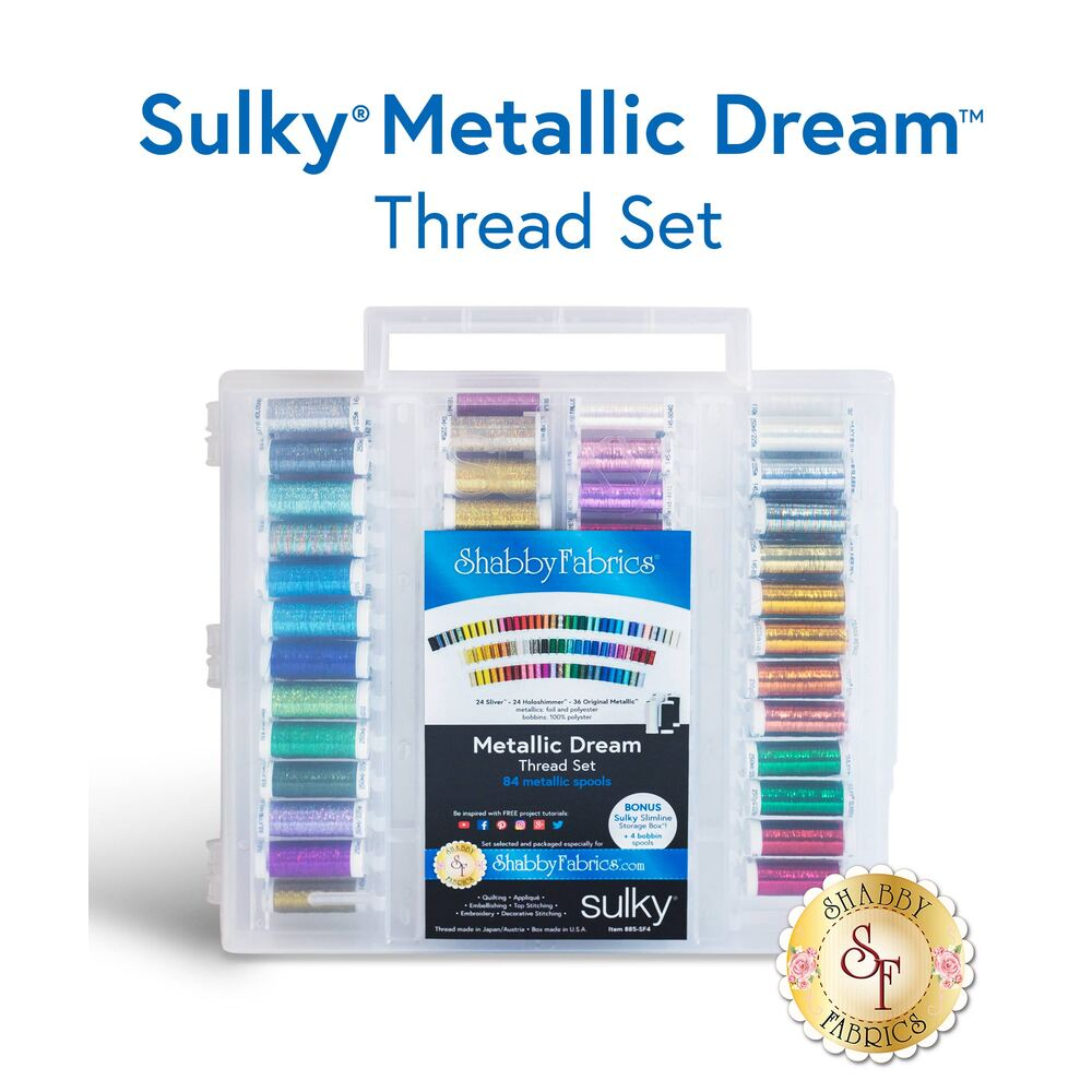Sulky Metallic Dream Thread Set - 88pc