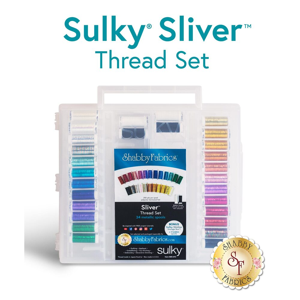 Sulky Sliver Metallic - 28 pc Thread Set