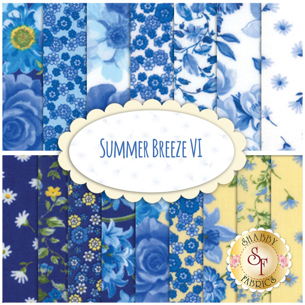 Summer Breeze VI  16 FQ Set by Moda Fabrics