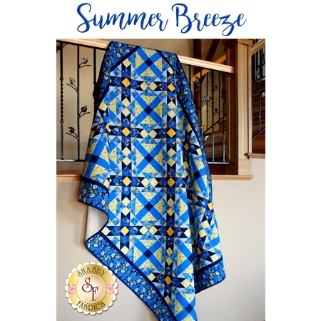Summer Breeze Quilt - SAMPLE QUILT