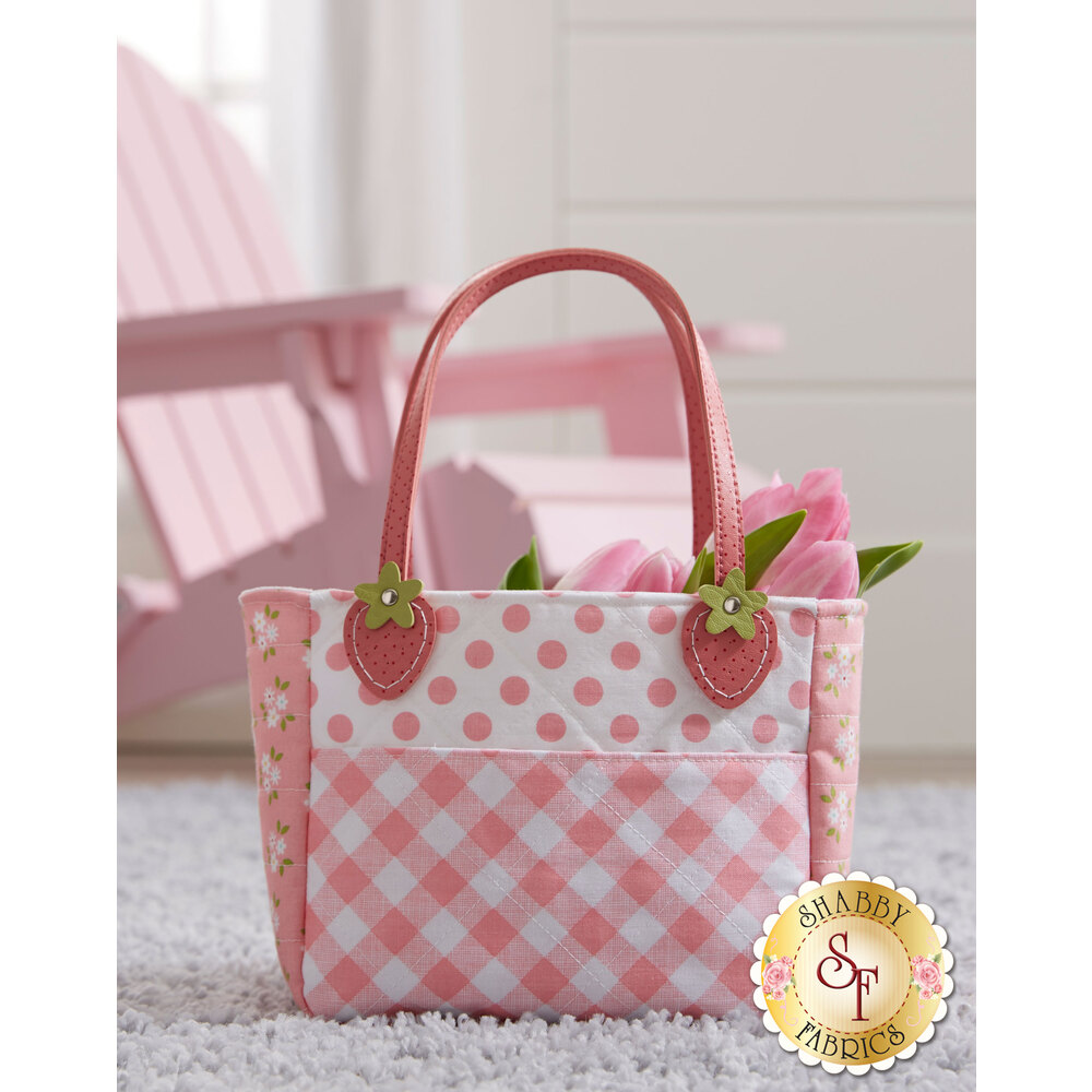 Sweet Strawberry Tote Kit - Video Project
